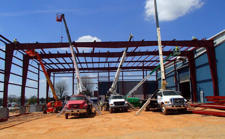 steel erection greensboro nc
